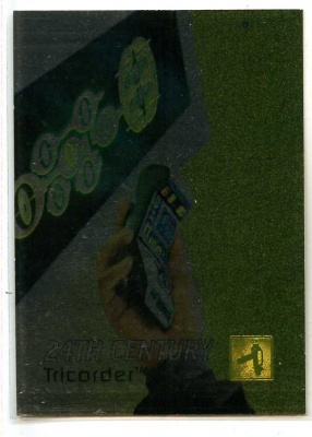 Star Trek 30 Years of - E9 - 1995 - Tricorder 24th Century - Foil Card