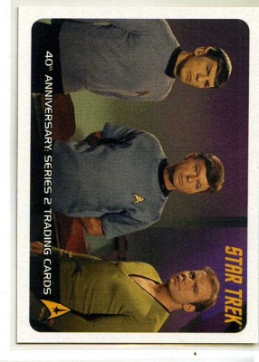 Star Trek 40th Anniversary Series 2 - P2 - Promo Card