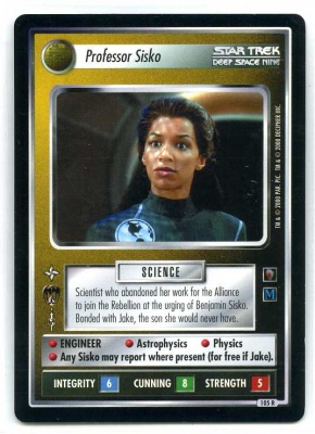 Star Trek CCG Mirror Mirror - Decipher 2000 - NM-MT to MT - Professor Sisko - Personnel - Rare - BB