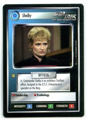 Star Trek CCG Premiere - NM-MT to MT - Shelby - Personnel - Rare - BB