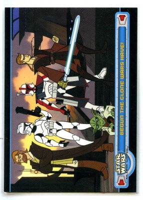 Star Wars Clone Wars - Promo Card