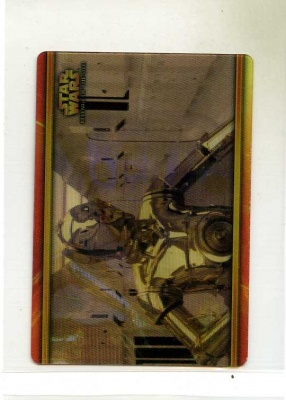 Star Wars Revenge of the Sith Flix-Pix Card - #65 - Topps 2005 - Lenticular