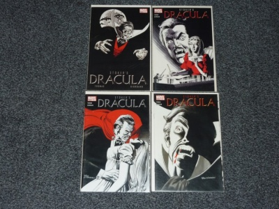 Stokers Dracula #1 to #4 - Marvel 2004 - Complete Set