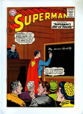 Superman 176 - DC 1965 - FN+ - Legion of Super-Pets