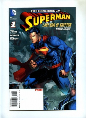 Superman Last Son Of Krypton Special Edition - DC 2013 - VFN+ - Free Comic Book Day FCBD