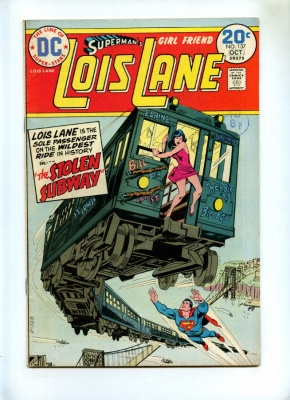 Supermans Girl Friend Lois Lane #137 - DC 1974 - Final Issue with this Title