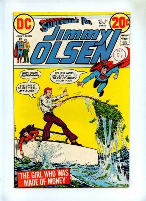 Supermans Pal Jimmy Olsen #154 - DC 1972 - VFN