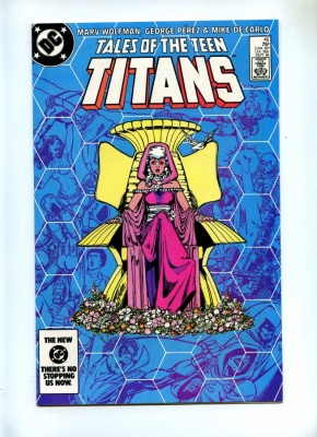 Tales of the Teen Titans 46 - DC 1984 - VFN+ - Aqualad and Aquagirl Join