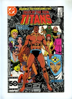 Tales of the Teen Titans 57 - DC 1985 - VFN/NM - Neutron App