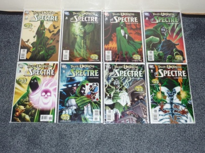 Tales of the Unexpected #1 to #8 DC 2006 VFN to VFN/NM - Complete Set - Spectre