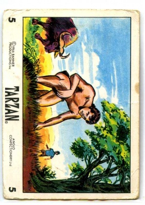 Tarzan - 5 - Anglo Confection 1966