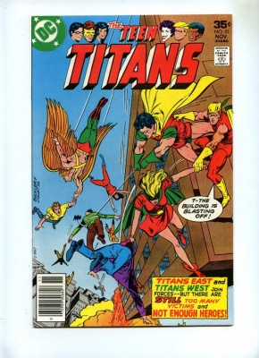 Teen Titans 51 - DC 1977 - VFN/NM