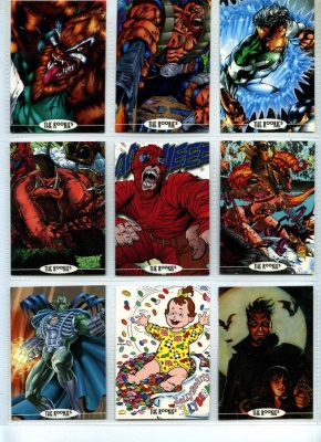 The Rookies - Promo 9 Card Set - Illustrated Magazine