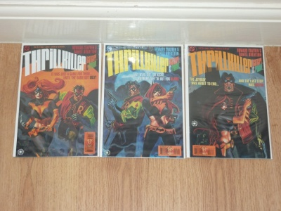 Thrillkiller #1 to #3 - DC 1997 - VFN+ to VFN/NM - Complete Set - 3 Comics - Robin Batgirl