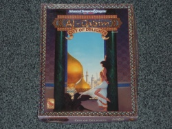 Al-Qadim City of Delights Complete Boxed Set - AD&D 2nd Ed - #1091 - TSR