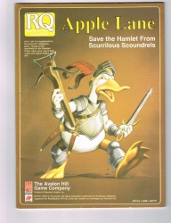 Apple Lane Save the Hamlet From Scurrilous Scoundrels - Glorantha 1987 Runequest