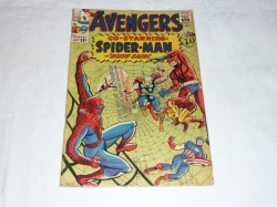 Avengers #11 - Marvel 1964 - GD/VG - Spider-Man X-Over