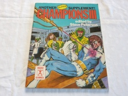 Champions III Another Super Supplement - Role-Playing Game - RPG - Hero Games