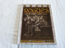 Gurps Rogues - Role-Playing Guide Book RPG - Steve Jackson Games