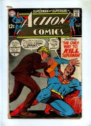 Action Comics #376 - DC 1969 - Superman - Last Supergirl In Action Comics