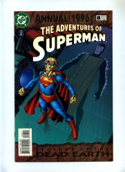 Adventures of Superman Annual 8 - DC 1996 - VFN+ - Legends of Dead Earth Story