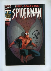 Amazing Spider-Man 1 - Marvel 1999 - VFN/NM - Dynamic Forces Alternate Cover Ltd Series Signed John Romita Jr