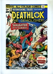 Astonishing Tales #32 - Marvel 1975 - Pence - Deathlok the Demolisher