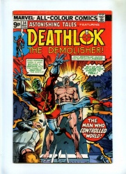 Astonishing Tales #34 - Marvel 1976 - Pence - Deathlok the Demolisher