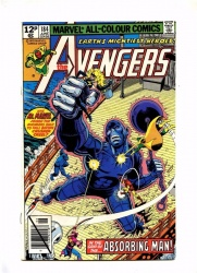 Avengers 184 - Marvel 1979 - VFN+ - Pence - Vs Absorning Man