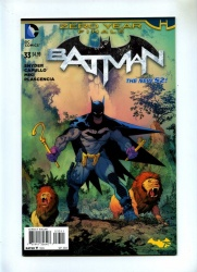 Batman 33 - DC 2014 - NM - New 52 - 1st Print - Zero Year - Vs Riddler