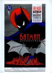 Batman Adventures 7 - DC 1993 -- Polybagged with Batman vs Manbat card - Sealed
