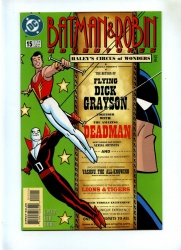 Batman and Robin Adventures #15 - DC 1997 - NM- - Deadman App