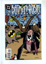 Batman and Robin Adventures #4 - DC 1996 - VFN+ - Penguin App