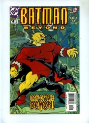 Batman Beyond #14 - DC 2000 - VFN+ - Demon App