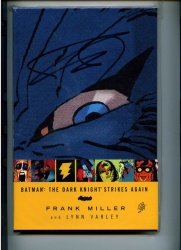 Batman The Dark Knight Strikes Again - DC - Looks NM - Hardback Graphic Novel Signed by Frank Miller