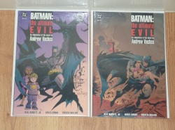 Batman The Ultimate Evil #1 to #2 - DC 1996 - VFN- to VFN - Complete Set - Prestige Format