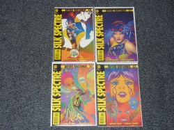 Before Watchmen Silk Spectre #1 to #4 - DC 2012 - Complete Set