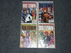 Big Town #1 to #4 - Marvel 2001 - Complete Set