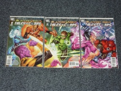 Blackest Night Tales of the Corps #1 to #3 - DC 2009 - Complete Set