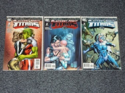 Blackest Night Titans #1 to #3 - DC 2009 - Complete Set
