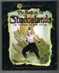 Book of Shadowlands Hardback #3006 - AEG 1998 - Legend of the Five Rings RPG