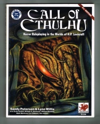 Call of Cthulhu #2336 - Chaosium 1992 - 5th Edition - H P Lovecraft RPG