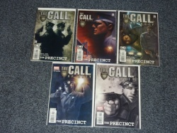 Call of Duty The Precinct #1 to #5 - Marvel 2002 - Complete Set