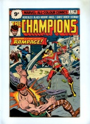 Champions #5 - Marvel 1976 - Pence - 1st Rampage