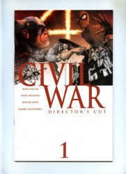 Civil War #1 - Marvel 2006 - NM - Directors Cut