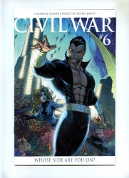 Civil War #6 - Marvel 2006 - NM - Variant Cvr Michael Turner