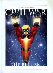 Civil War The Return #1 Marvel 2007 VFN Variant Mcguinness Return of Capt Marvel
