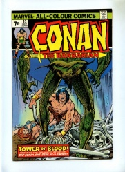 Conan the Barbarian #43 - Marvel 1974 - VFN- - Pence