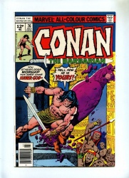 Conan the Barbarian #76 - Marvel 1977 - VFN - Pence