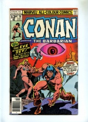Conan the Barbarian #79 - Marvel 1977 - FN - Pence